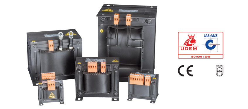 ONE AND TWO PHASE ISOLATION TRANSFORMER